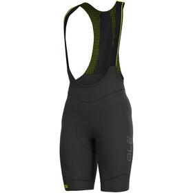 Alé Cycling Clima Protection 2.0 Clima Zimowe spodnie rowerowe na szelkach Mężczyźni, black